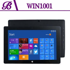 10.1inch Windows Tablet 2G + 32G 1280 * 800 IPS Front Camera 2.0MP Rear Camera 2.0MP China Windows Tablet Solution Providers  Win1001