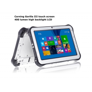10.1inch intel Z3735F Quad Core 2G  32G 1280*800 IPS with  BT Wifi Rugged Tablet PC