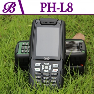 2.4-inch Resolution  320 * 240 Memory 64MB + 64MB 3800 mAh supports Bluetooth Military Cell Phone L8