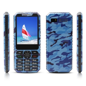 2.8inch Spreadtrum6531 32MB+32MB FVGA 0.08MP Dual Camera Bluetooth GSM Feature Phone RFP281