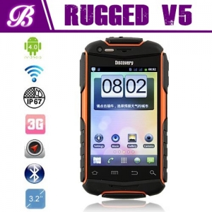 3.5 inch MTK6572 dual core discovery V5+ rugged android phone
