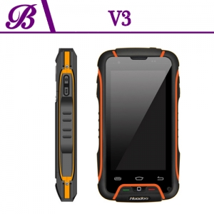 4 Inch Quad Core 1G + 8G Camera  Front 1.3M Rear 8.0M Android 4.2 Support  WIFI GPS BT Rugged Smart Phone