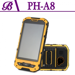4.1 inch 3G Touch Rugged Smartphone with 512+4G 480*800 Resolution Front Camera 0.3M Rear Camera 5.0M