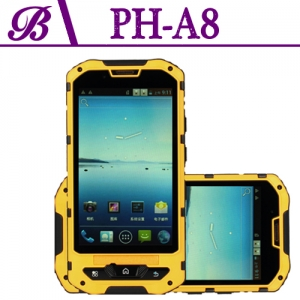 4.0inch  3G Waterproof Smartphone  Resolution 480 * 800  Camera Front 0.3M Rear  5.0M Memory 512 + 4G