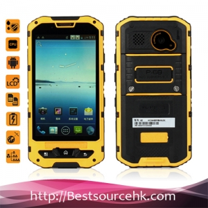 4.1 inch A8 rugged phone Waterproof IP68 Android 4.2 GSM+3G Dual core phone smartphone