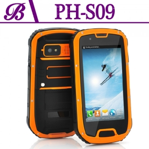 4.3 Inch 1 + 4G Quad Core 960 * 540 QHD 2G 3G Camera Front 0.3M Rear 8.0M  Walkie Talkie  NFC GPS WIFI  FM BT Rugged Android Smartphone