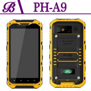 4.3inch 960*540 TFT IPS Front 2.0M Rear 8.0M 1G+16G 3G Rugged Smart Phone