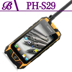 4.5 inch 854 * 480 IPS 512 + 4G Supports Bluetooth GPS WIFI Front Camera 2.0M  Rear Camera 8.0M Casio Rugged Smartphone  S29