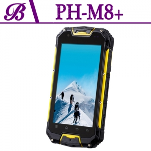 4.5 inch Support GPS WIFI Bluetooth 1G + 4G Memory 540 * 960 Screen Front Camera 2.0M Rear Camera 8.0M Touch Screen Waterproof Shockproof Dustproof Mobile Phones M8 +