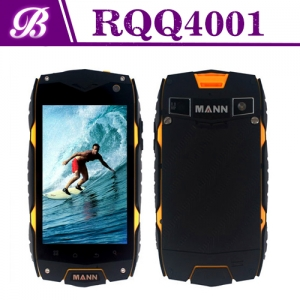 4inch  MSM8212 800 * 480 1G 4G Front Camera 0.3MP Rear Camera 5.0MP with 3G GPS WIFI Bluetooth Quad Core Rugged  Phone RQQ4001