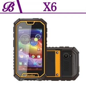 5 inch 2G + 32G Battery 4200 mAh Front Camera 13.0MP Rear Camera 13.0MP 1920 * 1080 Mobile Phone Waterproof X6