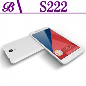 5.5inch MTK6582 Quad Core 1280*720 1G 16G Front Camera 5.0MP Rear 8.0MP With 3G GPS WIFI Bluetooth IPS Smart Phone