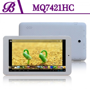 7 inch 512MB + 4G 1024 * 600 TN 2000 mAh Front Camera 0.3MP Rear Camera 2.0MP Vaptop Tablet PC China Supplier MQ7421HC