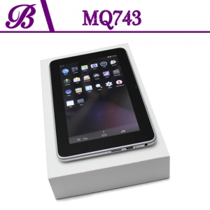 7 inch Battery 2400 mAh 1G + 4G 800 * 480 VGA Front Camera 0.3MP Rear Camera 2.0MP Tablet PC China Supplier MQ743