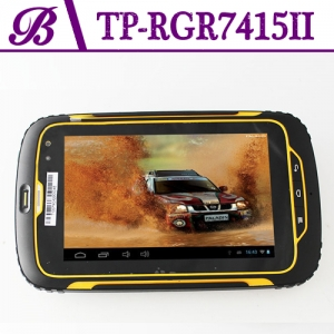 7 inch Front Camera 2.0MP and Rear Camera 8.0MP 1280 * 800 IPS 1G + 16G With  3G GPS WIFI Bluetooth  Rugged Tablet PC  RGR7415II