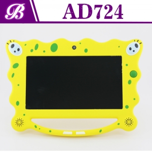 7 inch RK3026 Dual Core 1024 * 600 HD 512MB 4G  Front 0.3MP and Rear 0.3MP Camera  Android Child Tablet PC AD724