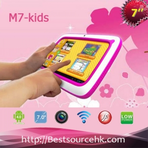 7inch R73  kid tablet pc Rockchip RK3168 Dual Core Cortex A9 Android 4.2 with wifi bluetooth