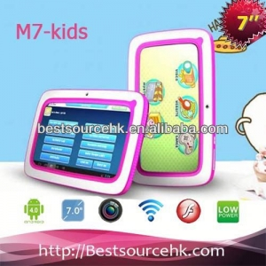 7inch android kids tablet