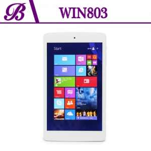8 inch BAYTRAIL-T Z3735G Chipset Front Camera 0.3MP Rear Camera 2.0MP 800 * 1280 IPS 1G + 16G Touch Tablet PC Win803