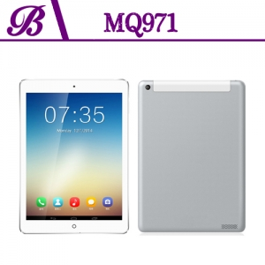 9.7-inch 1024 * 768 IPS 1G 16G Front 0.3MP Rear 5.0MP  With GPS WIFI  Bluetooth 3G Tablet PC