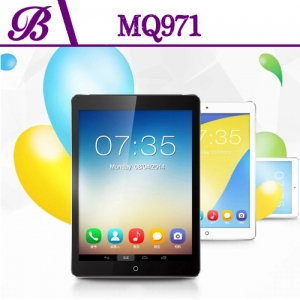 9.7inch MTK8382 Quadcore 1G  16G 1024*768 IPS  Front 0.3MP and Rear 5.0MP Camera  with 3G  GPS BT Wifi 3G Android Tablet PC  MQ971