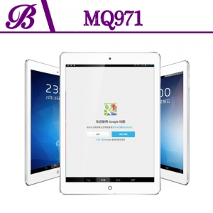 9.7 inch MTK8382 1024 * 768 IPS 1G 16G Camera:Front 0.3MP Rear 5.0MP with 3G WIFI Bluetooth GPS Tablet PC