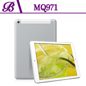 9.7 inch MTK8382 1024 * 768 IPS  1G 16G  Front 0.3MP Rear 5.0MP with 3G GPS  WIFI Bluetooth  Quad Core Tablet PC