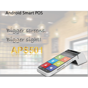 "APS501 5"" Ttouch Screen Android Smart POS"