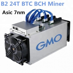 B2 GMO World's 7nm Bitcoin Miner 24T ASIC Mining Machine
