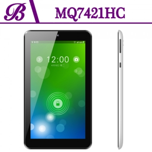 China 3G Android 7 inch Tablet PC Developers 512MB + 4G 1024 * 600 TN  2000 mAh Front Camera 0.3MP Rear Camera 2.0MP MQ7421HC