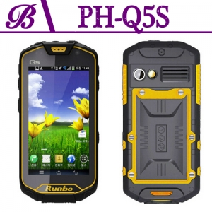 MTK 6589 4.5  Inch 1 + 8G Quad Core 2G 3G MTK6589 Camera Front 2.0M  Rear 8.0M 1280 * 720IPS WIFI GPS BT Rugged Mobile Phone