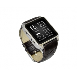 Samrt Watch Phone G01 de MTK6260 240 * 240 64 Mo 128 Mo Soutien GSM A-GPS Bluetooth