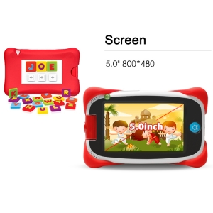 5.0inch MTK8127 Quad Core 800*480 1G 8G Android 4.4.2 Kid Tablet PC