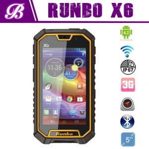 New Arrival! IP67 MTK6589 quad core Runbo X6 rugged phone