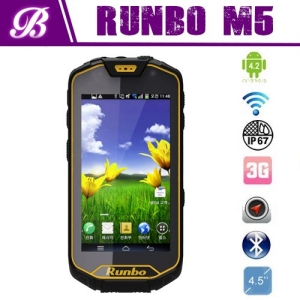 New Walkie Talkie Smartphone 4.5'' Gorilla IPS Screen Runbo Q5 phone, russian rugged android phone