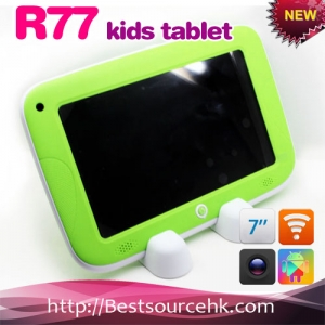R77  kid tablet pc Rockchip RK3168 Dual Core Cortex A9 1.0GHz 7inch with wifi HDMI