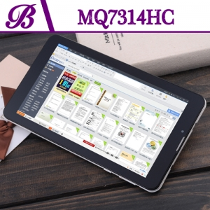 Vaptop Tablet PC Suppliers  in China 7 inch 512 + 4G 1024 * 600 TN Front Camera 0.3MP Rear Camera 2.0MP MQ7314HC