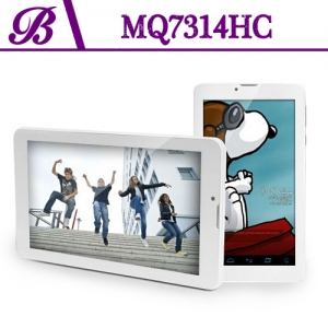 Vaptop Tablet Supplier in China  7 inch 1024 * 600 TN 512 + 4G Front Camera 0.3MP Rear Camera 2.0MP MQ7314HC