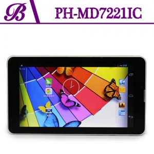 Bluetooth GPS WIFI NFC 1024 * 600 HD Front Camera 0.3MP Rear Camera 2.0MP 7inch Dual Core 3G WIFI Android Tablet PC MD7221IC