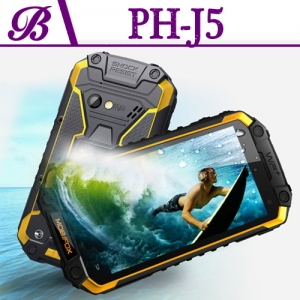 J5 Rugged Android Phone With Resolution 1280*720 Memory 1G+16G
