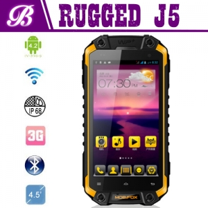 J5 Rugged phone 4.5inch with GPS WIFI  Android 4.2 BT