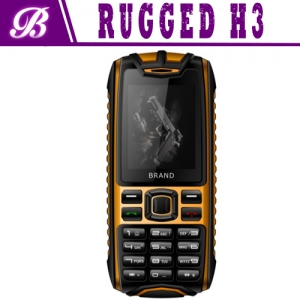 MTK6260A With 64MB+64MB Rear Camera 0.3M Dual Sim Card Rugged Phone