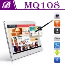 China 10.1inch Android tablet pc with 1G+8G 1028*800 IPS 3G GPS BT factory