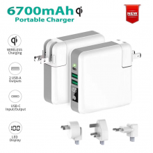 中国2018 Newest 4 in 1 Smart Charger Wireless Power Bank工厂