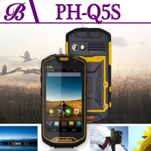 China 4.5 inch 4200 mAh 1280 * 720 IPS 1G + 8G Supports Bluetooth WIFI GPS Cell Phone Rugged  Q5S factory
