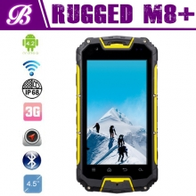 China 4.5inch IP68 waterproof mtk6589 quad core NFC Optional Snowpow M8 rugged phone with walkie talkie/ptt factory