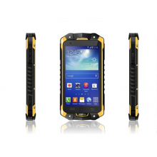 China 4.5inch  MTK6582 Quad  Core  540*960  1G  4G  With NFC Walkie Talkie 3G  GPS Bluetooth  WIFI  IP67 Rugged Smart Phone RMQ4501 factory