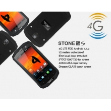 China 4G Rugged Mobile Phone 5inch  MSM8926 Quad Core 1280 * 720 IPS 1G 8G TD FDD Mobile Phone factory