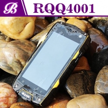 China 4inch Quad Core MSM8212 800 * 480 1G 4G Front 0.3MP Rear 5.0MP with 3G GPS WIFI Bluetooth 3G Android Rugged  Phone RQQ4001 factory