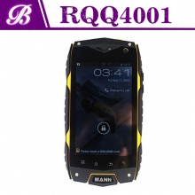 China 4inch Quad Core MSM8212 800 * 480 1G 4G Front 0.3MP Rear 5.0MP with 3G GPS WIFI Bluetooth 3G Rugged Phone RQQ4001 factory
